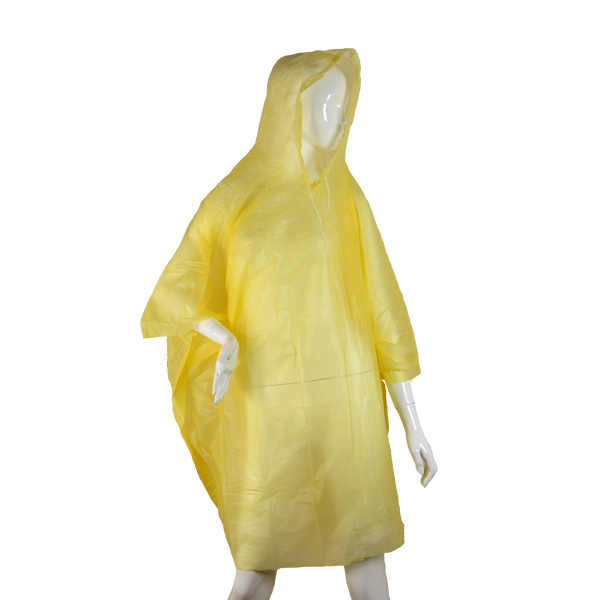 HBS Poncho Peso Leve - Amarelo